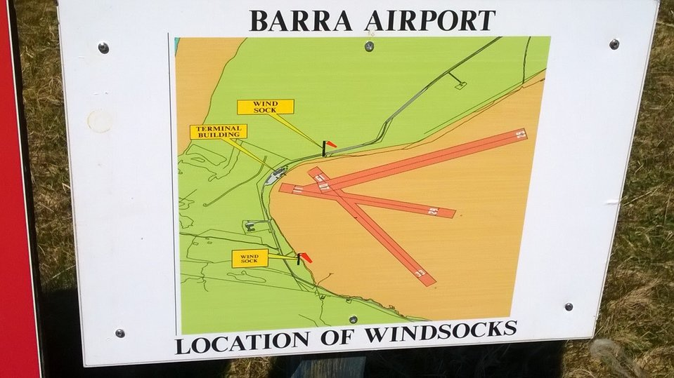 Barra airport, Outer Hebrides by Mark Rowe