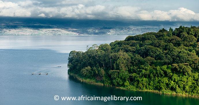 Lake Kivu, Rwanda, Africa Image Library