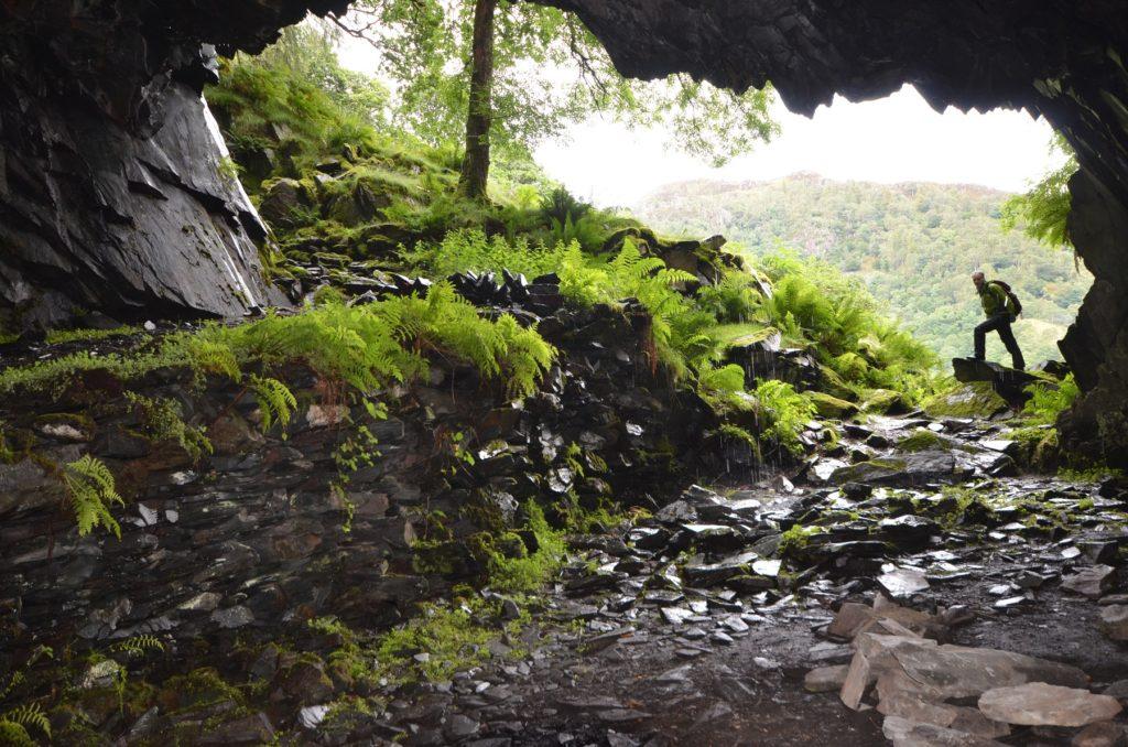 Dalton's Cave Castle Crag Cumbria best small hills England