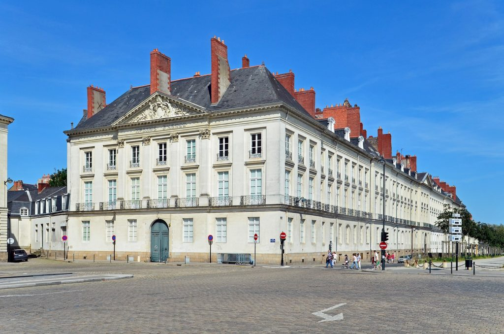 Hôtel d'Aux in Maréchal-Foch square, Nantes ©  Selbymay