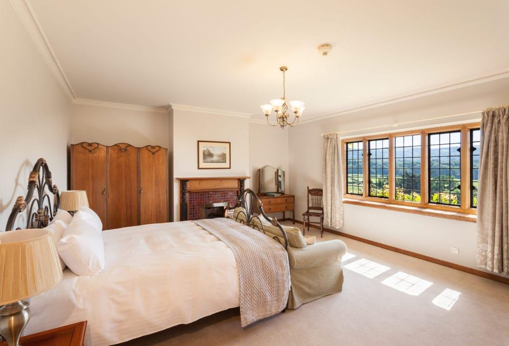 Bossington Hall bedroom