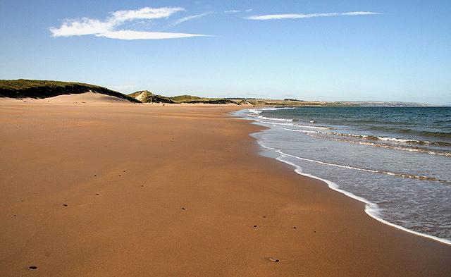 Cheswick Sands Northumberland