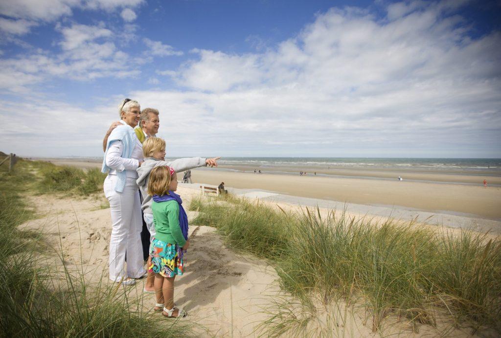 De Panne Northern Belgium holiday Flemish coast