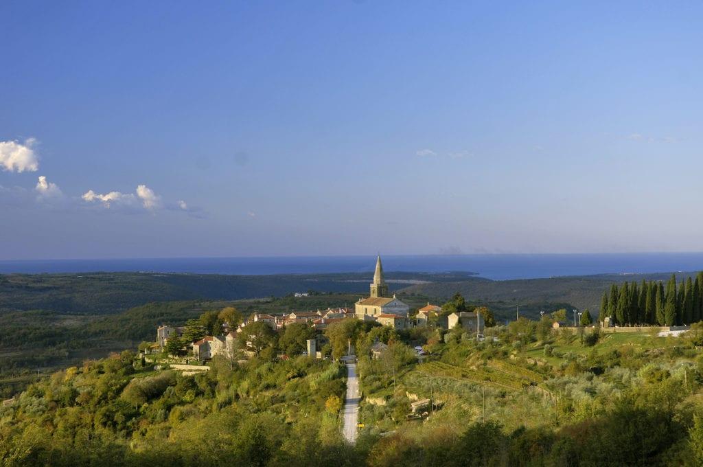 Groznjan Istria Croatia by Istria Photonet