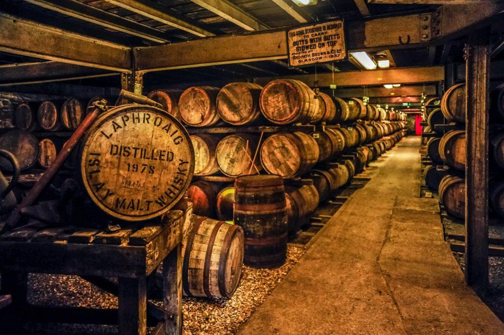 Laphroaig Distillery local food inner hebrides