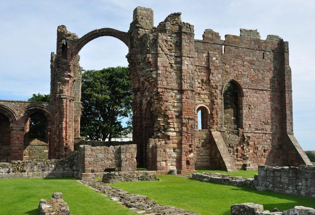 Lindisfarne Priory Northumberland