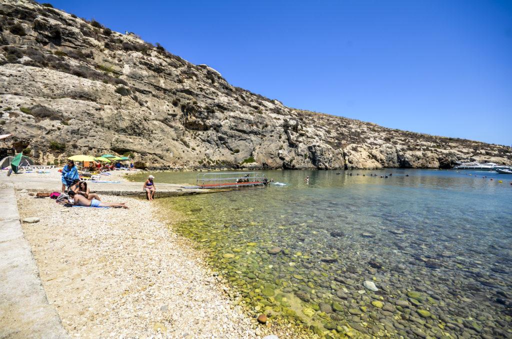 Mgarr ix-Xini beach Malta and Gozo by www.viewingmalta.com