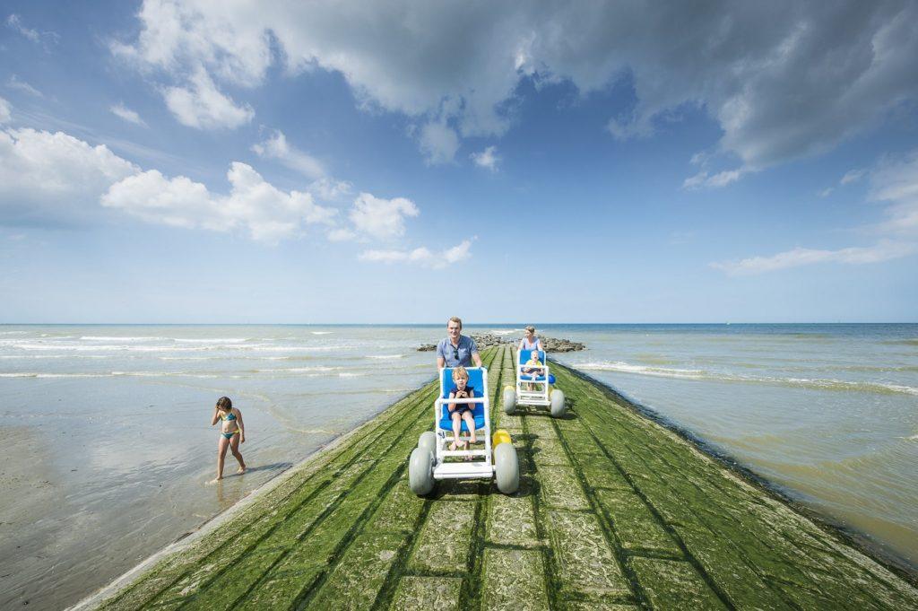 Nieuwpoort Northern Belgium holiday Flemish coast