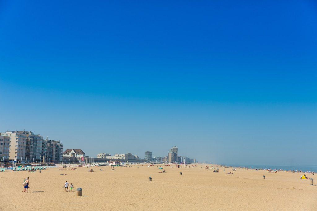 Oostende Northern Belgium holiday Flemish coast