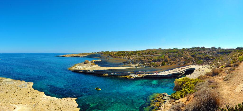St Peter's Pool beach Malta and Gozo by www.viewingmalta.com