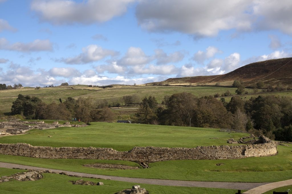 what to see along Hadrian's Wall Vindolanda Roman Fort