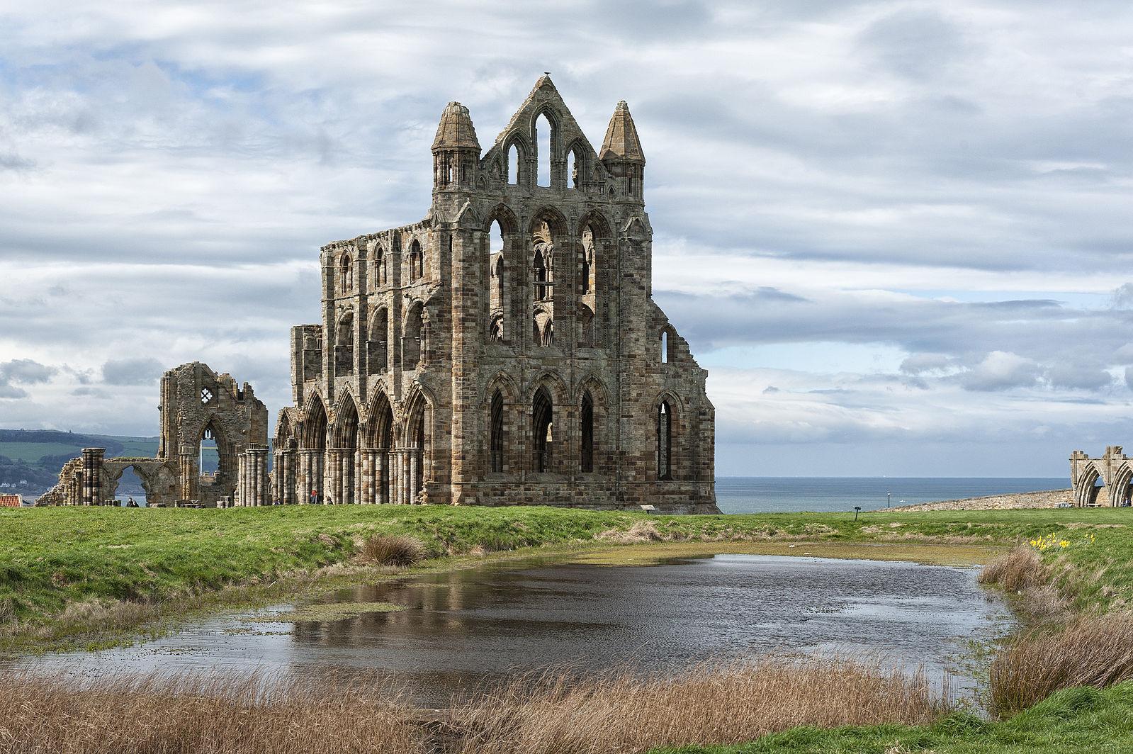 Whitby Abbey heritage coast yorkshire