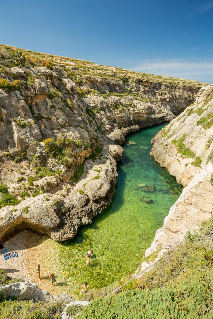 Wied il-Ghasri beach Malta and Gozo by Florian Augustin Shutterstock