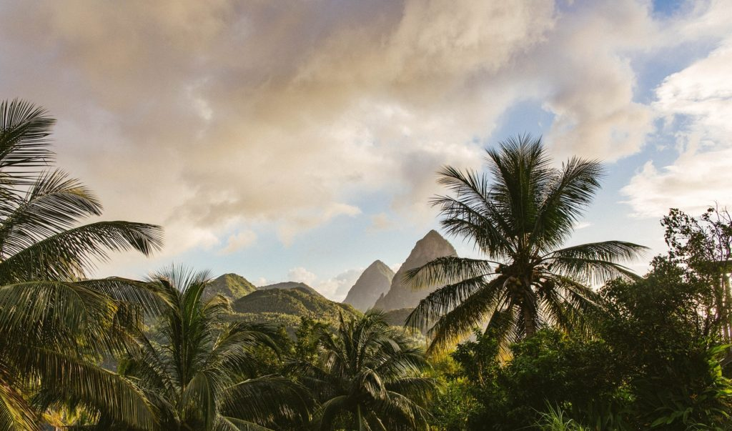 St Lucia, Dominica and Martinique: The Pitons, St Lucia © Corinne Kutz