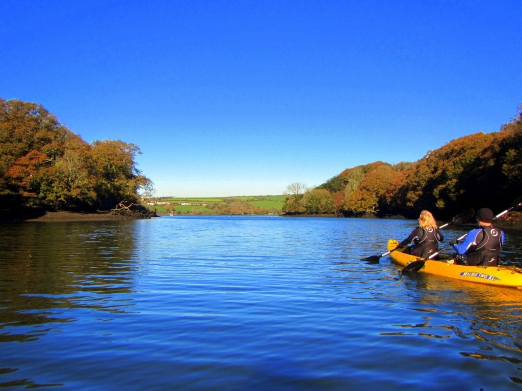 Helford River Cornwall best paddleboarding routes england