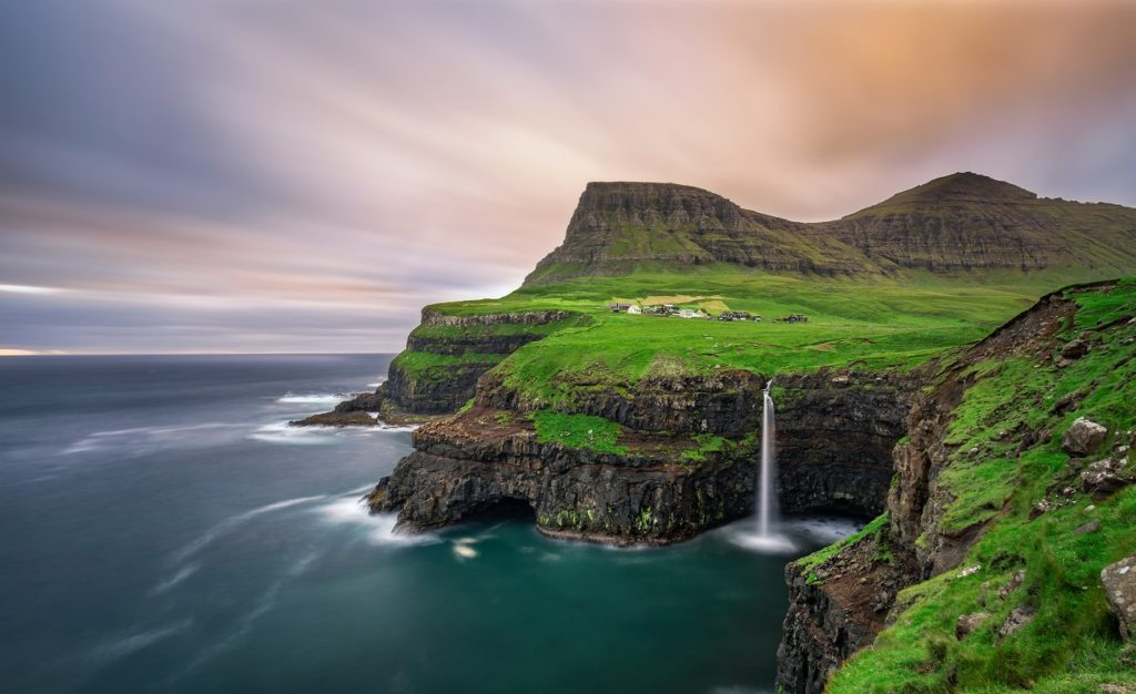 Gasandalur Faroe Islands remote
