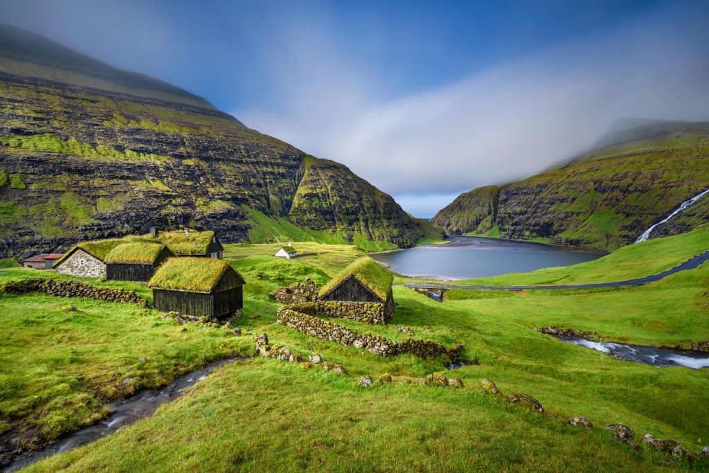 Saksun Faroe Islands remote