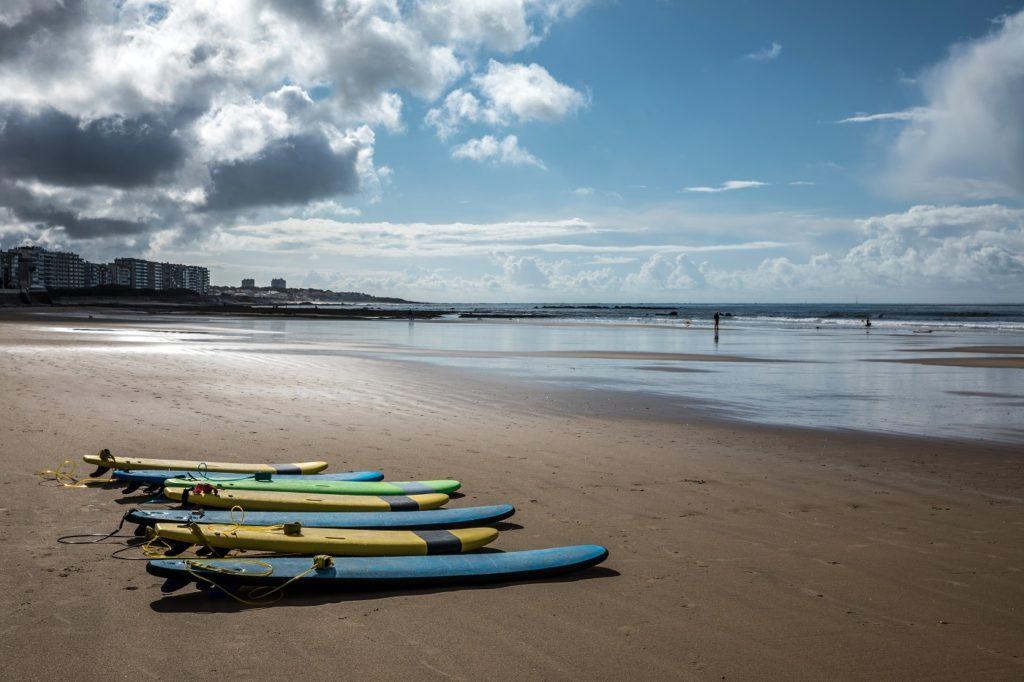 Les Sables d'Olonne beach vendee holiday