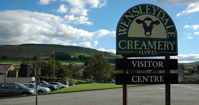 Wensleydale Creamery Hawes Yorkshire Dales © Wensleydale Creamery