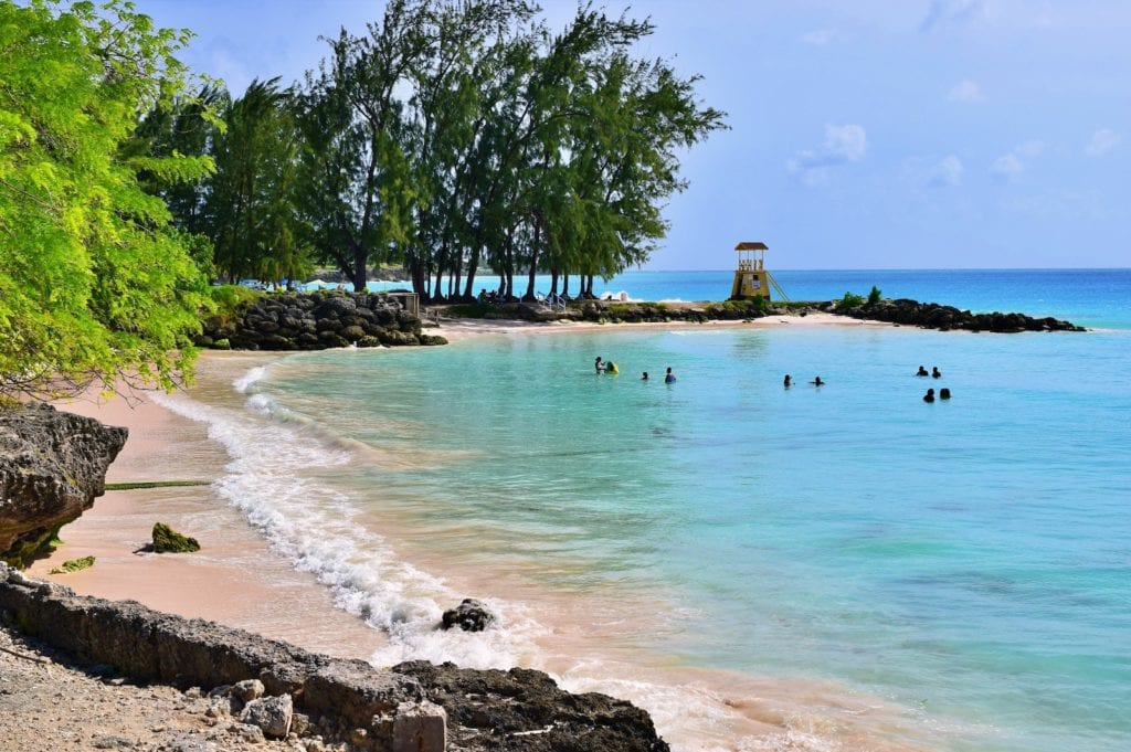 Beach Barbados by Anthony Ingham