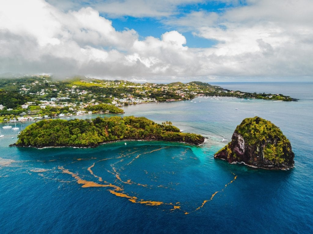 Bay St Vincent and the Grenadines by George Apodaca Caribbean countries open for winter sun