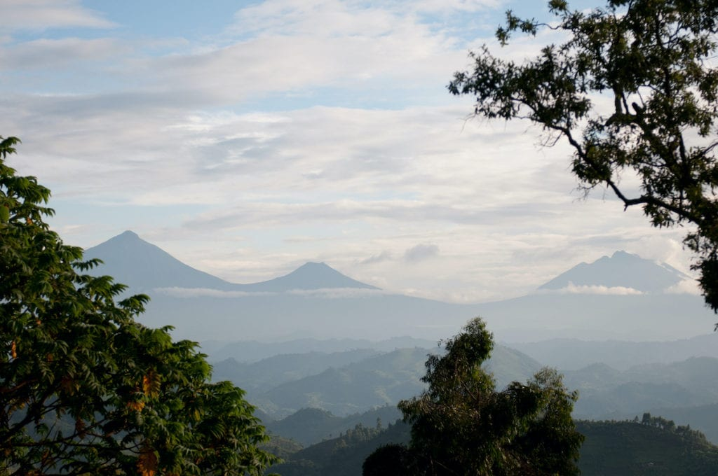 Virunga Mountains Congolese-Ugandan border by AfricaWildlife, Shutterstock