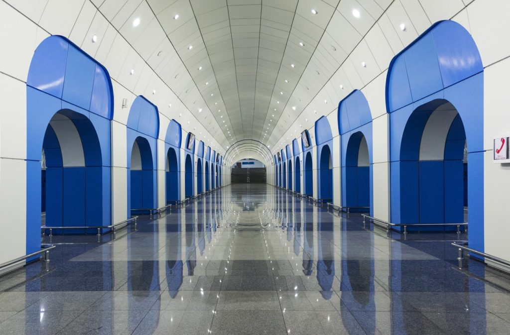 Baikonur metro station almaty Kazakhstan beautiful