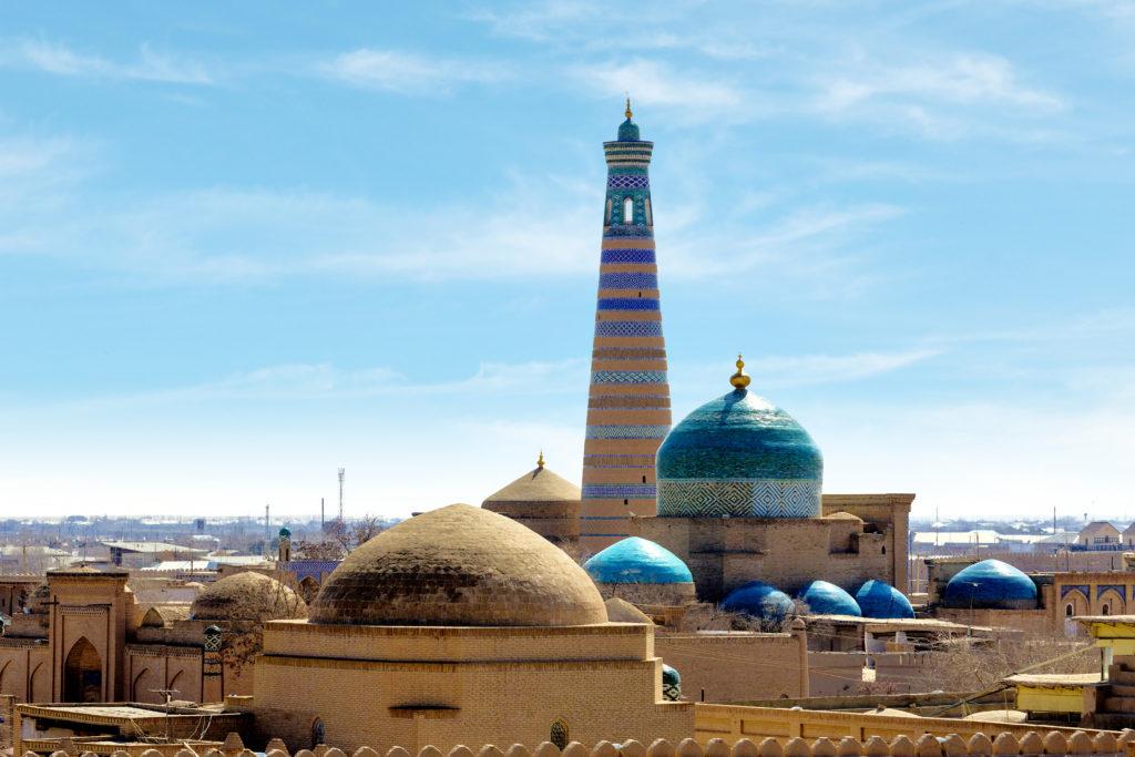 Khiva Uzbekistan posztos Shutterstock