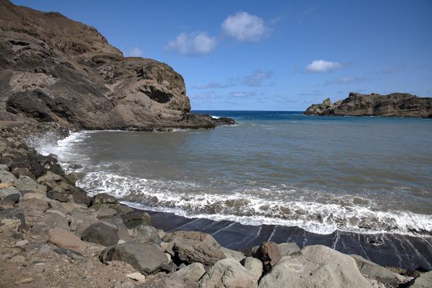 Sandy Bay St Helena by Scott Bennett