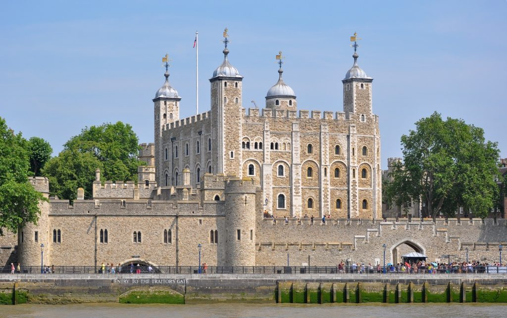 Tower of London UK creepiest attractions london
