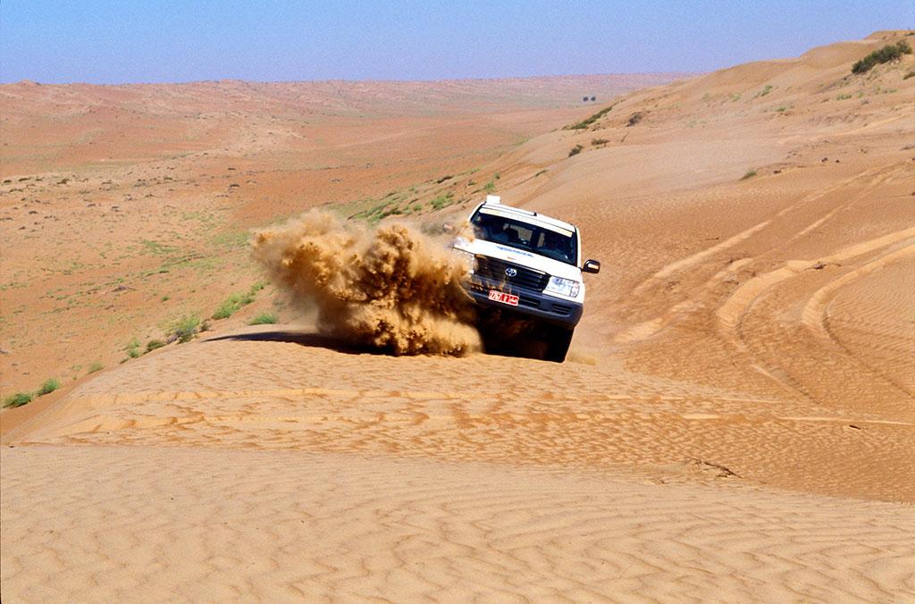 Wadi Bashing Oman by Ministry of Tourism Oman