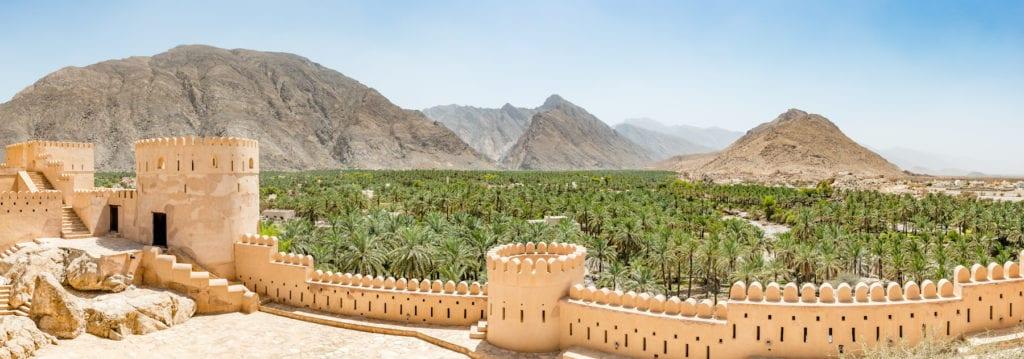 Nakhal Fort Rustaq Loop Oman by Richard Yoshida Shutterstock
