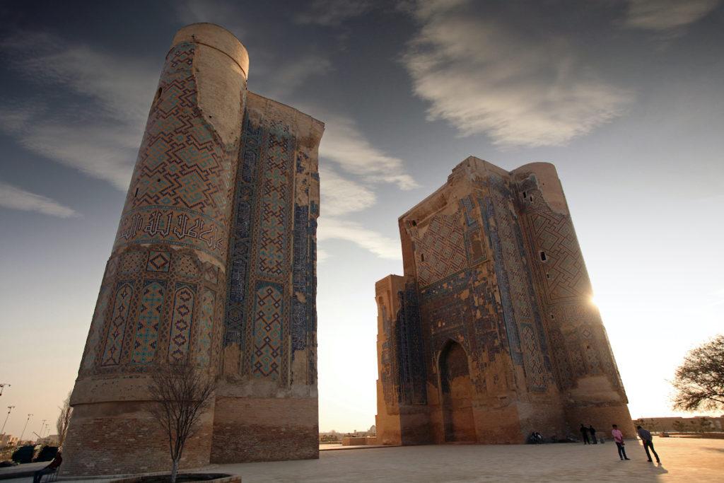 Ak Serai Complex Shakhrisabz Uzbekistan by akimov konstantin Shutterstock