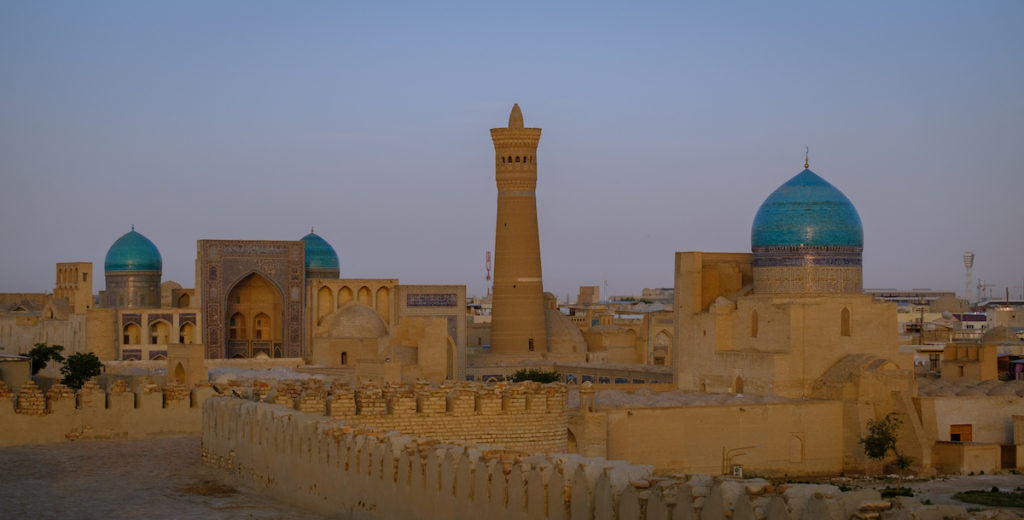 Bukhara Skyline Uzbekistan by Laurent Nilles