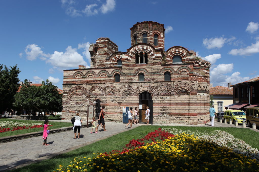 Holy Pantocrator Church of Christ Nesebur Bulgaria by Nenov Brothers Images Shutterstock