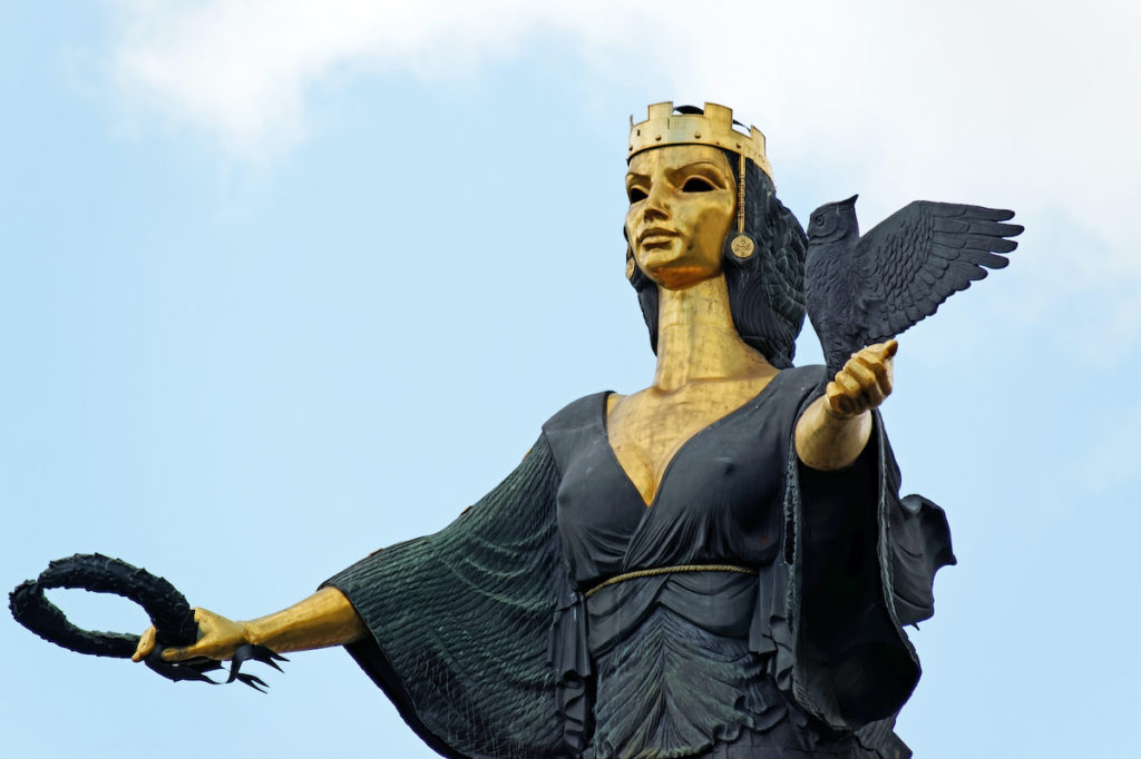 statue St Sofia Sofia by Pres Panayotov Shutterstock