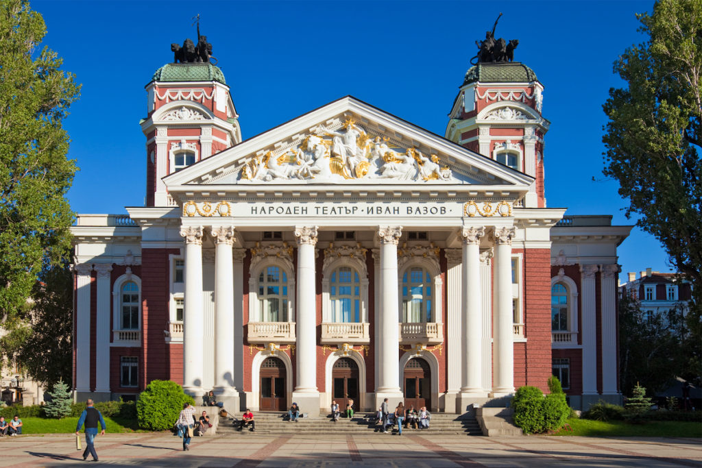 Ivan Vazov National Theatre Bulgaria by Nickolay Stanev Shutterstock