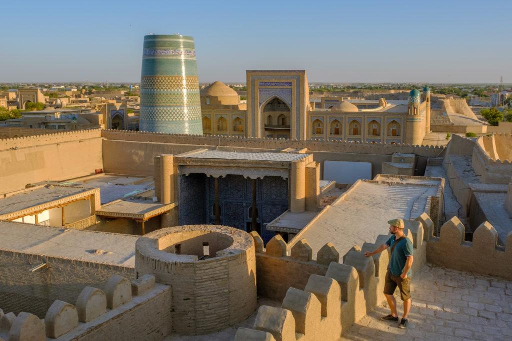 Ichon Qala Khiva Uzbekistan by Laurent Nilles