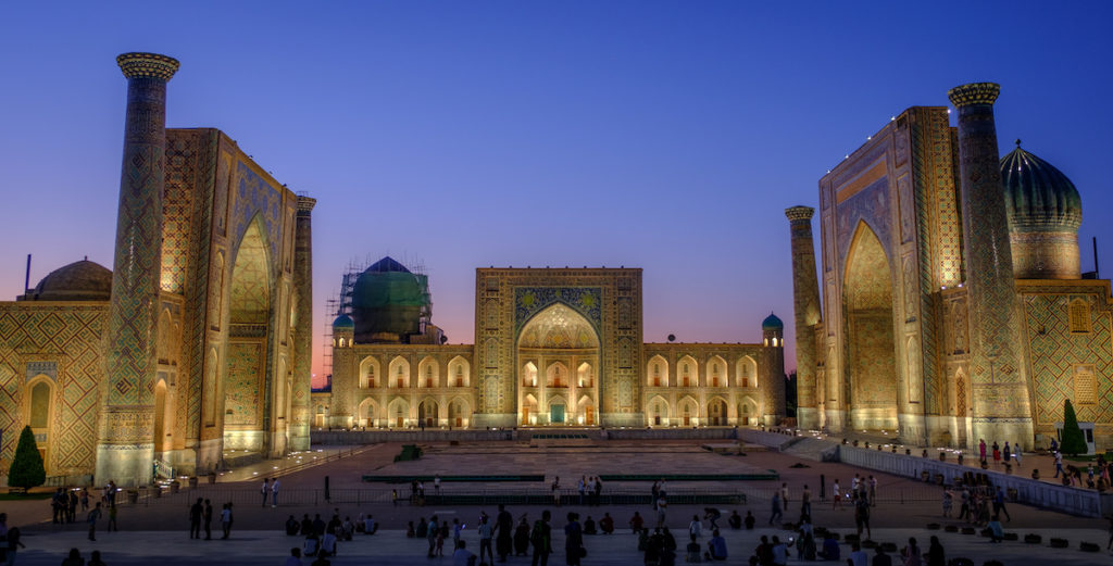 Register Night Samarkand by Laurent Nilles