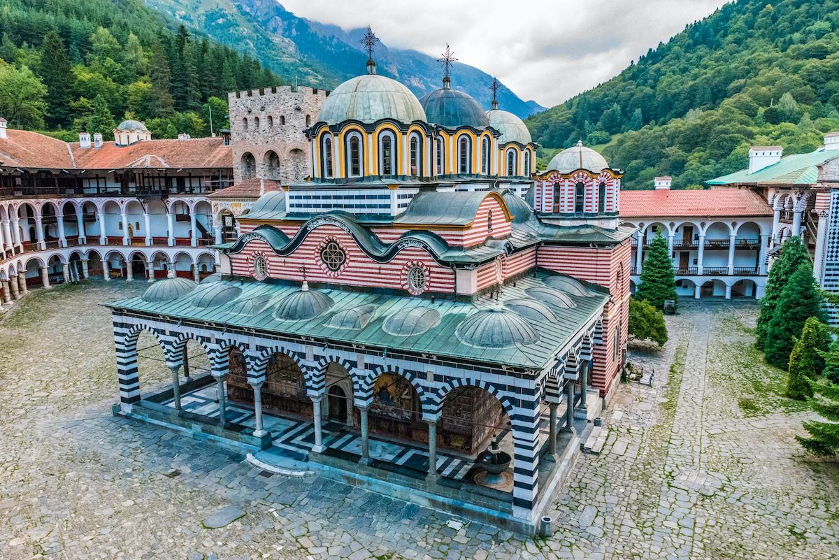 Rila Monastery Bulgaria by Takashi Images Shutterstock