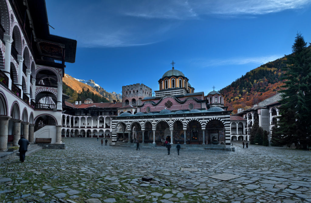 Rila Monastery Bulgaria by Ivan Miladinov Shutterstock