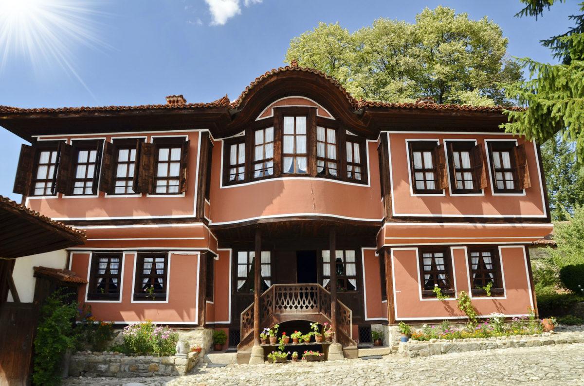 Traditional House Koprivshtitsa Bulgaria by Ilizia, Shutterstock