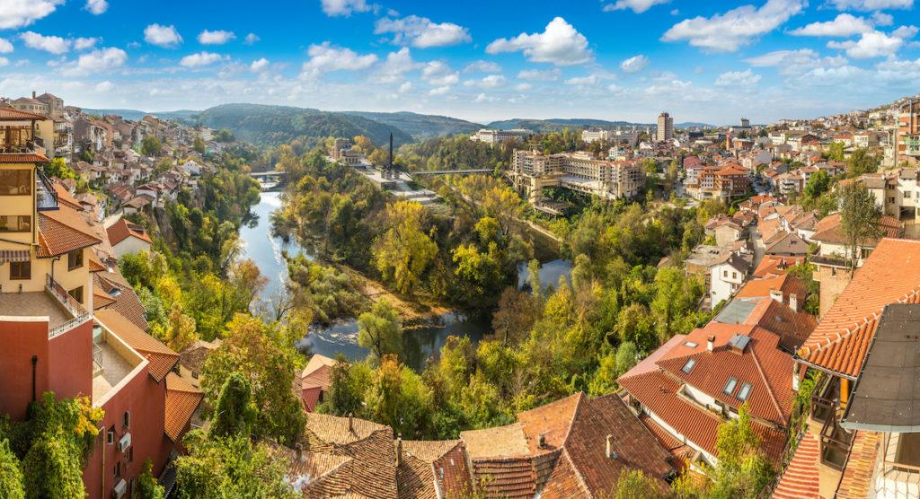 Veliko Tarnovo Bulgaria by S-F Shutterstock