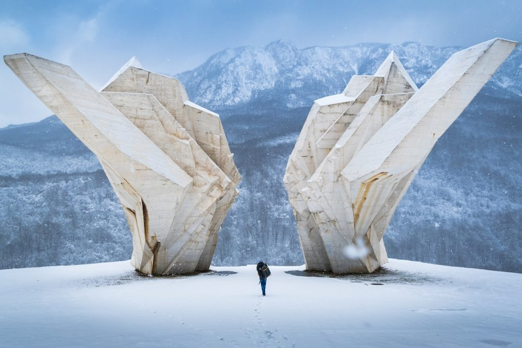 Battle of Sutjeska Memorial Complex spomeniks Bosnia