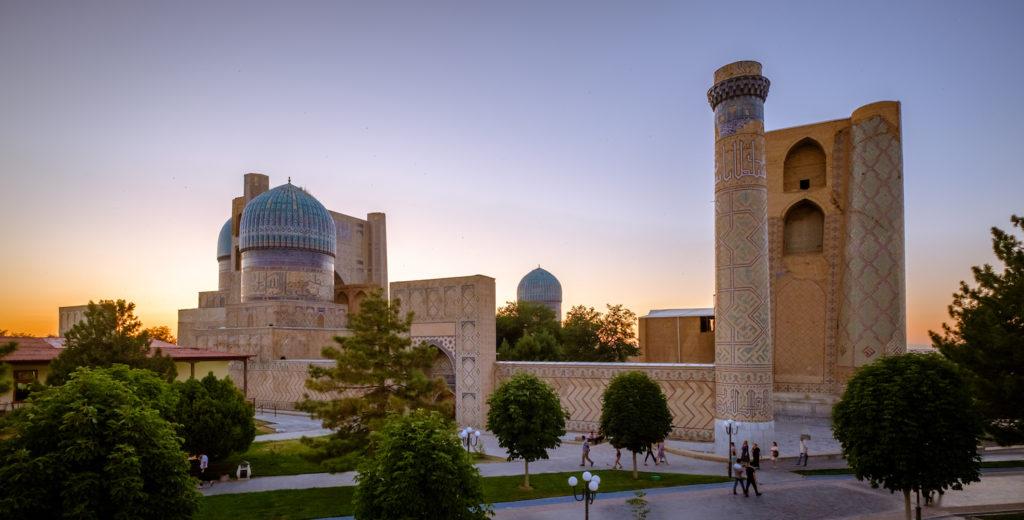 Bibi Khanym Mosque Samarkand Uzbekistan © Laurent Nilles