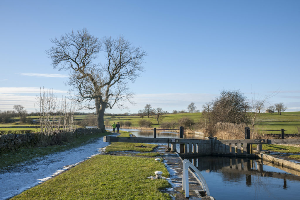 Leeds and Liverpool Canal Skipton Yorkshire Dales by Canal River Trust