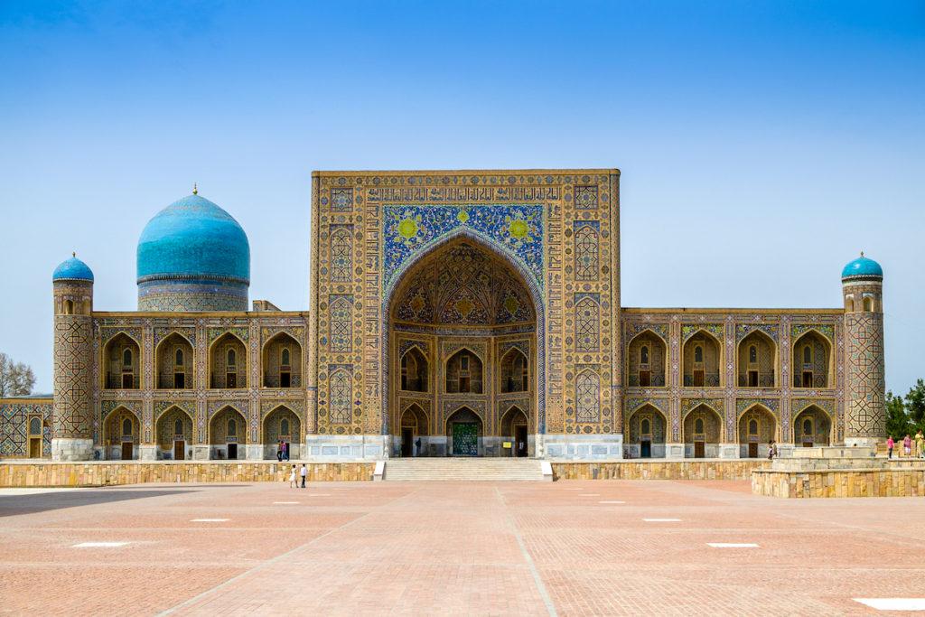 Registan Samarkand by Evegeniy Agarkov, Dreamstime