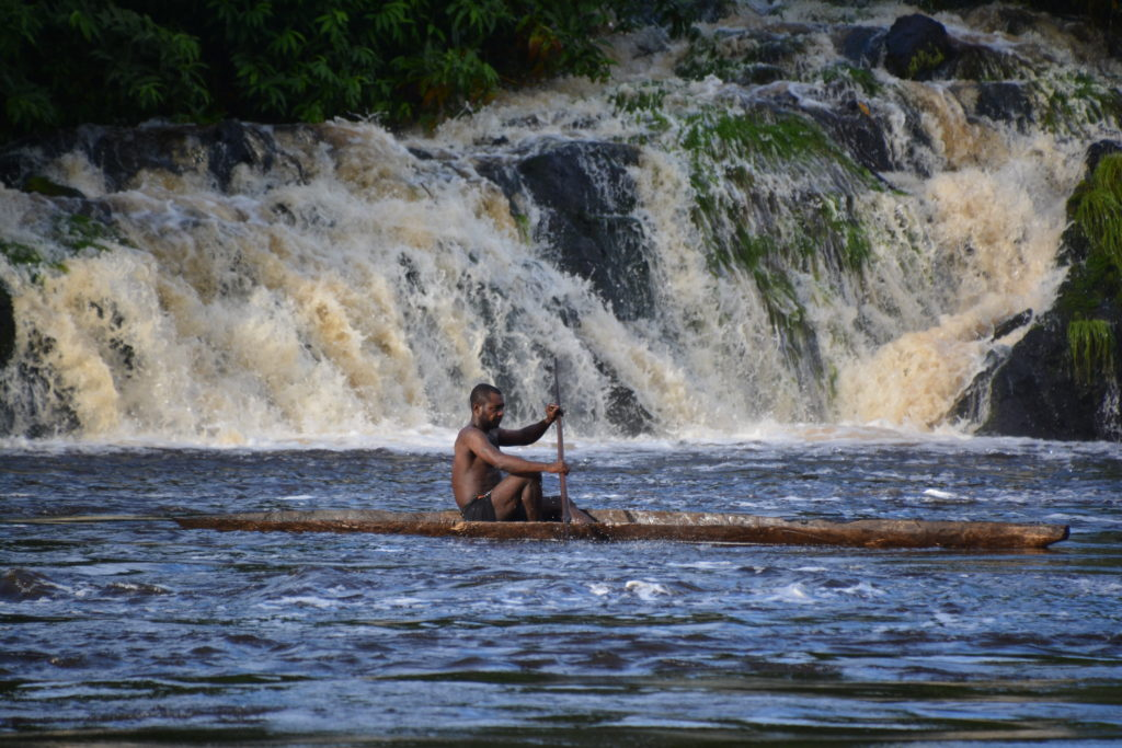 Koungou Falls Ivindo National Park Gabon by Stuart Jarvis