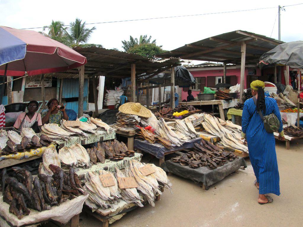 Fish market, Gabon, David Stanley, Flickr