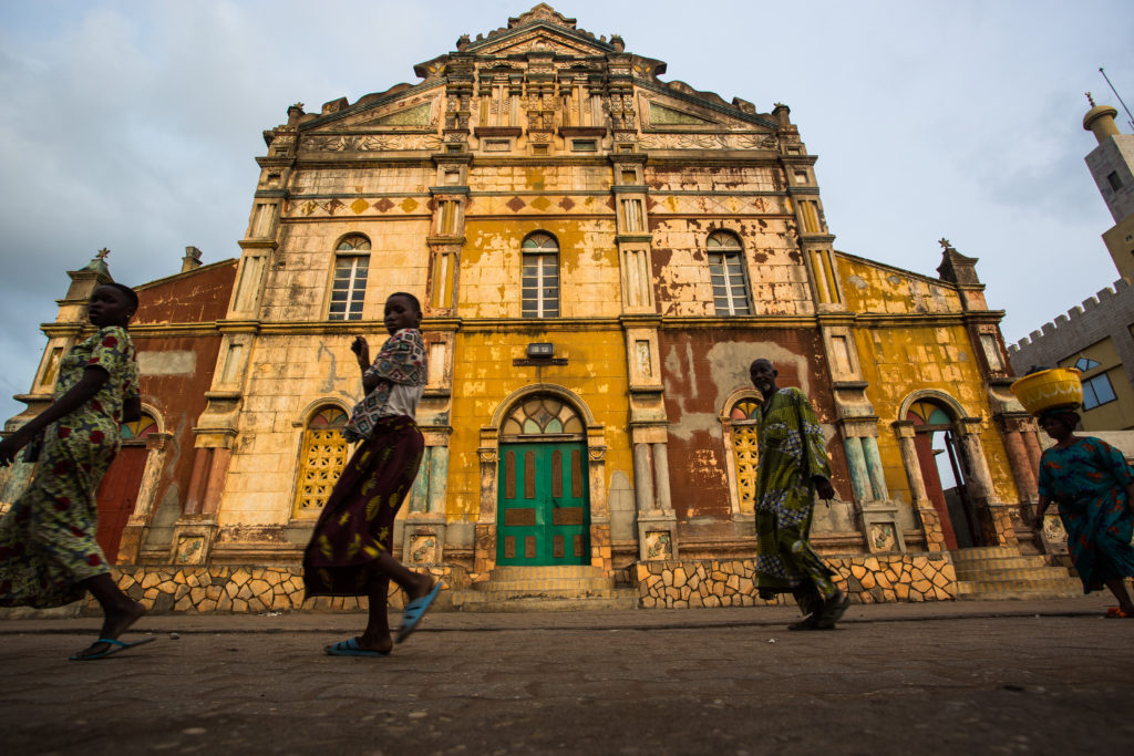 Porto-Novo, Grand Mosque, Benin, Stuart Butler